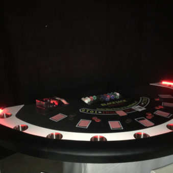 Casinotafel Black Jack delux