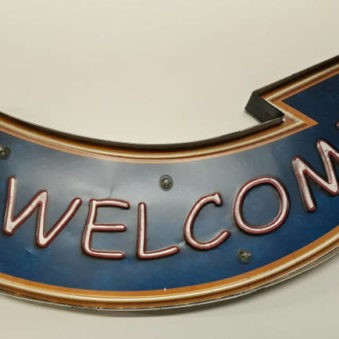 Pijl 'welcome'